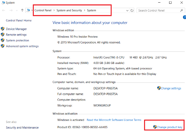 Windows 10 Product Key for free