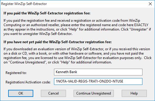 WinZip Activation Codes Free